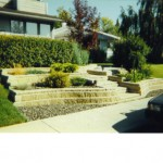 Tiered Flower Beds